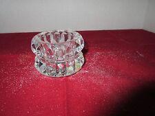 Mikasa Round Diamond Cut Crystal Votive Candle Holder