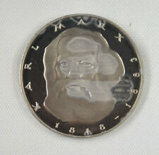New listing Germany Proof Coin 5 Mark, 1983, 100th Anniversary - Death of Karl Marx