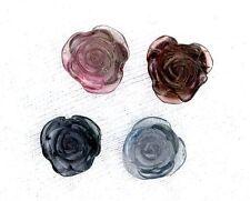 17.10 Carats 4 Carved Tourmaline Flower Gem Gemstone Natural Carving EBS100OTH