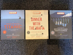 Dinner Game With The Mafia + Titanic + Orient Express x3 Dinner Party Game