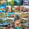 Scenery DIY Oil Acrylic Painting Kit Paint By Numbers Adult Children Beginners