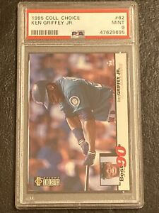 1995 Collector's Choice PSA 9 Mint #62 Ken Griffey Jr. Seattle Mariners MLB Card