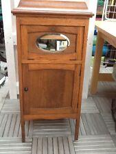 Grammophone Schrank mit Geschliffenem Spiegel Barschrank Grammophoneschrank