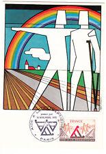 CARTE MAXIMUM FDC 1978 TIMBRE N° 2023 AIDE A LA READAPTATION