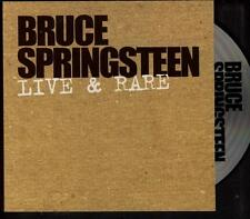 BRUCE SPRINGSTEEN Live & Rare 4 track PROMO CD