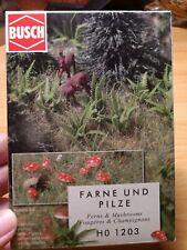 Busch Ferns And Mushrooms Landscape Kit 1203