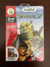 Leap Frog LeapPad Shrek 2 w/Interactive Book & Cartridge 2nd Grade Reading Spell