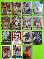 Buffalo Bills Football Card Lot Prizm Josh Allen Cole Beasley Thurman Thomas