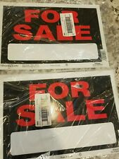 """12 Quantity Sign 8""""x12"""" 'For Sale' by HILLMAN 839928"""