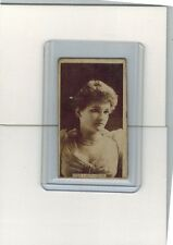 1884 SWEET CAPORAL N245 MISS LINTHICUM G/VG TOBACCO CARD