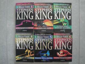 IL MIGLIO VERDE - S. KING serie completa 6 vol. Sperling & Kupfer PRIMA EDIZIONE