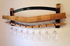 Flaschenregal Weinfass Daube  Weinregal Gläseraufbewahrung Upcycling