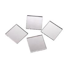2 Inch Glass Craft Mini Square Mirrors 12 Pieces Square Mosaic Mirror Tiles