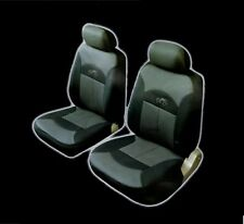 COSMOS Car Seat Cover Celcius - Front Pair - Black/Grey
