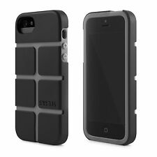 Incase iPhone SE iPhone 5s SYSTM Chisel Hard Case Snap Cover Black Asphalt NEW