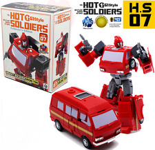 Hot Soldiers HS07 Iron Tin mini TOY G1 Ironhide New in stock MISB
