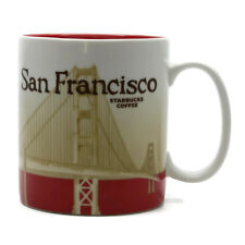 2009 Starbucks Coffee San Francisco Golden Gate Bridge Global Icon Cup Mug