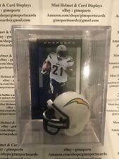 LaDainian Tomlinson San Diego Chargers Mini Helmet Card Display Collectible Auto