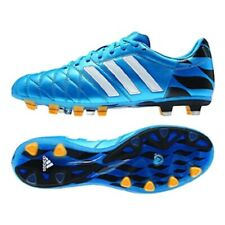 ADIDAS AdiPure 11pro TRX FG Solar Blue/White/Gold Leather Soccer Shoes US 7