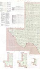 1996 Texas vintage USGS Index Map Multiple Topo Series original