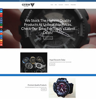 G-SHOCK WATCHES Website Earn £44 A SALE|FREE Domain|FREE Hosting|FREE Traffic