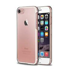 Clear Hard Plastic Case For iPhone 8, iPhone 7, iPhone SE 2020, Back Cover