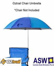 120cm UPF50+ Oztrail CHAIR UMBRELLA Beach Camping Sport Shade BP-OZCU