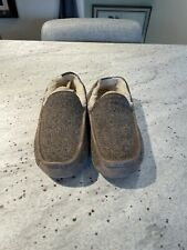 Ugg Ascot Twead Slippers 11 Shearling Lined