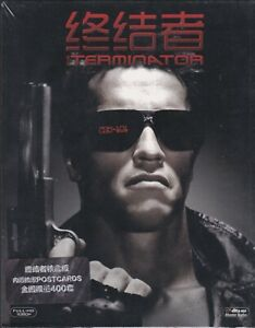 The Terminator SteelBook / with Postcard Set Chinese import Limited to 400
