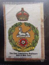 No.67 THE EAST LANCASHIRE REGIMENT 30TH & 59TH - Godfrey Phillips BDV Silk 1914