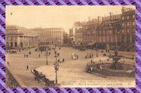 CPA 33 - BORDEAUX - place de la comedie et rue sainte catherine