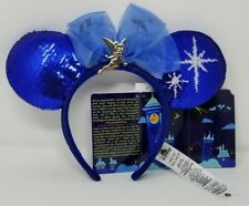Disney Minnie Mouse Main Attraction Peter Pan Flight Ear Headband Tinker Bell