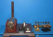 60er Jahre Wilesco Dampfmaschinen D 24 mit zubehör