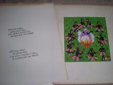Les dix petits nègres nursery rhyme images de Guy Rocca éditions Chantal 1945