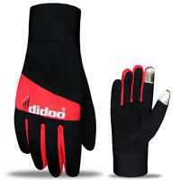 Men's Full Finger Cycling Gloves  Windproof lightweight Thermal Sports