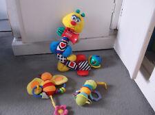 Baby Toys! vintage Fisher Price long wriggley Ver C1998 & ELC Bug & Manhatten