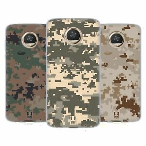 HEAD CASE DESIGNS MILITARY CAMOUFLAGE SERIES 2 SOFT GEL CASE FOR MOTOROLA PHONES