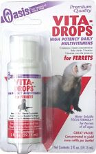 Oasis Vita-Drops for Ferrets 2oz Free Shipping
