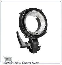 Elinchrom 26342 Quadra Reflector Adapter MK-Ii (Black) Mfr # EL26342