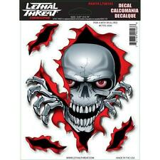 LETHAL THREAT STICKER MOTORCYCLE- HELMETS INDOOR/ OUTDOOR USE LT90103 PEEK A BOO