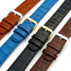 CONDOR 'Louisiana' Leather Watch Strap Band Alligator Grain 16mm 18mm 20mm 169R