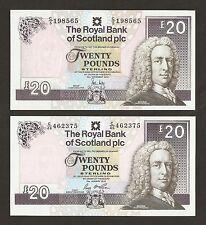 2010 / 16 Scotland £20 Pounds ( The Royal Bank Of Scotland  )  Uncirculated