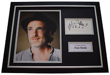 Fran Healy SIGNED FRAMED Photo Autograph 16x12 display Travis Music AFTAL & COA