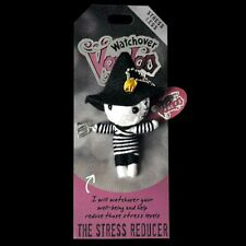 Watchover Voodoo Doll 'Stress Reducer' Car Rear View Mirror Hanger, Keyring