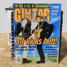 311 Kicks Butt!! Soundgarden! Nine Inch Nails! GUITAR WORLD MAGAZINE July 1997