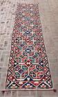 ba1308 Long Tribal Uzbek Suzani kilim rug runner, Hallway 14 ft Rug runner