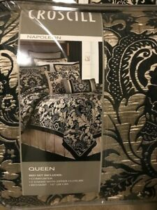 croscill queen comforter set new- Napoleon