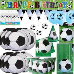 SOCCER FOOTBALL Sports BOY Birthday Party Range Tableware party decorations