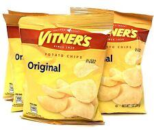 VITNER'S Original Salted Potato Chips A Chicago Original 10 Pack 1 ounce bags
