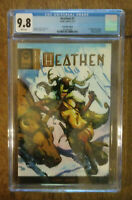 Heathen 1 CGC 9.8 Mint Edition  Read for MOVIE UPDATE. 175 copies of this cover